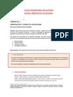 Orientacion y Conducta Vocacional. Unidad Tematica 1 (1)