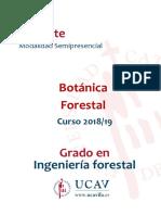 Guía docente botánica