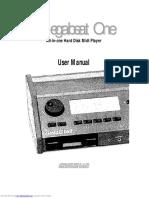 Megabeat One user manul