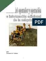 Manual de Tractor D9