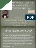 La Ultima Dictadura de Santa Anna y La