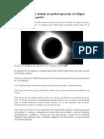 Eclipse 21 de Agosto-2017