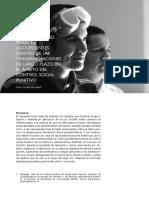 Ley de Responsabilidad Penal de Adolescentes dentro de las transformaciones a largo plazo en el ámbito del control social punitivo
