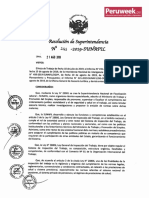 Proyecto de Protocolo de Fiscalización en Materia de Seguridad Social (Peruweek.pe)