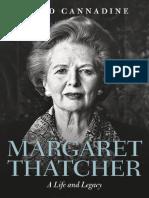 Cannadine, David-Margaret Thatcher _ a Life and Legacy-Oxford University Press (2017)
