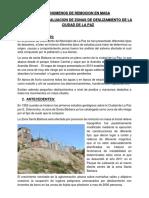 Informe Zona Central