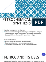 3. Petrochemical Synthesis