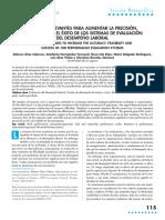 """Lectura de Apoyo """"Factores Relevantes Para Aumentar La Precisión, La Viabilidad y El Éxito de Los Sistemas de Evaluación Del Desempeño Laboral"""""""