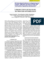 1.Cleaner Production of Palm Oil Milling by Process Optimization