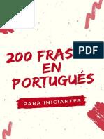 200 Frases_versao Espanhol