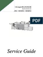 Imagerunner Advance 8500 Series Sg01