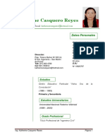 CV - Katherine Casquero-Actual