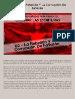 CLE01 02 - La Rebelión Y La Corrupción de HaSatán