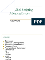Linux Shell Scripting Advanced