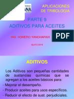 11.- ADITIVOS