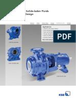 2-Page Leaflet KWP - Pump for Solids-laden Fluids