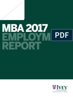 IveyMBA Permanent Employment Report