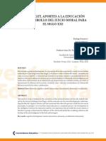 PIAGET Y EL DESARROLLO MORAL