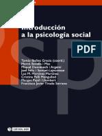 Introducción a la psicología social, Tomás Ibañez