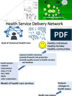 Topic 3-Health Service Delivery Network