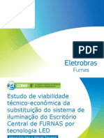 Estudo de viabilidade técnico-econômica da substituição do sistema de iluminação do escritório central de Furnas por tecnologia LED