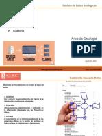 Servicio de Auditoria-Validacion Datos Geologicos-QAQC-Modelamiento-Recursos by EVELARDE