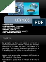 Ley 1333