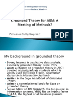 Grounded Theory for ABM