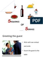 Sequence of Service