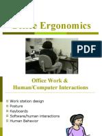 Office Ergonomics 2005