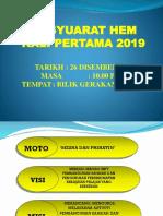 Power Point Mesyuarat Hem 2019