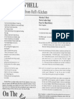 Two Poems from the Clinton Chronicle, NYC, Summer 1994