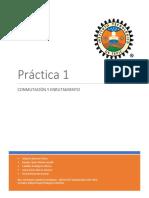 Reporte de Practica 1