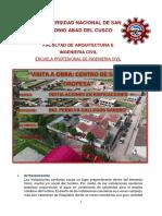 Informe de Instalaciones
