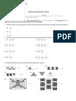 prueba 5° fracciones parte I