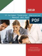 SimulArg - Manual Del Participante Sembrando Empresarios. v.2010