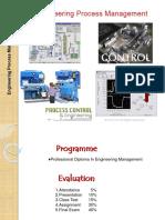 Engineering Process Mgt.