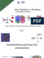 3_Aminoácidos, Peptídeos e Proteínas