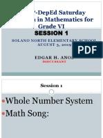 2019 MTAP -Session 1 Grade 6