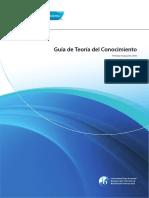 Manual Teoría del Conocimiento, Programa del Diploma, Bachillerato Internacional.
