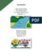 acrosticos para niños