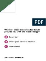Nutri Quiz