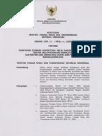 SKKNI 2007-131 Sektor Jasa Perusahaan Konsultasi Sub Sektor Jasa Konsultasi Survei Dan Pemetaan Bidang Geomatika (Diganti Dengan SKKNI 2013-331)