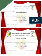 Mencion Teatro