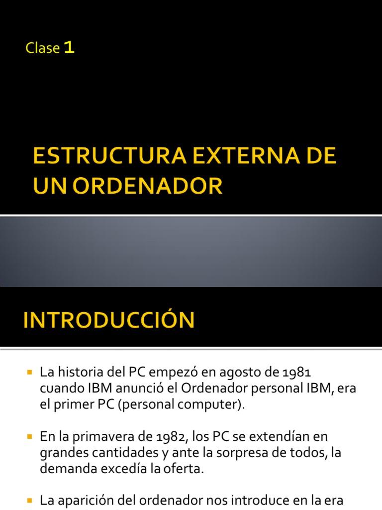 Estructura Interna Y Externa Monitor De Computadora