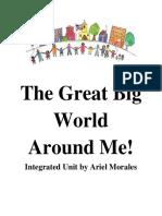 the great big world around me