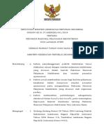 KMK No. HK.01.07-MENKES-481-2019 Ttg Pedoman Nasional Pelayanan Kedokteran Tata Laksana Nyeri