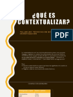 Contextualización- Taller JEC- Técnicas de estudio e Inv.