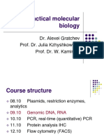 Practical Molecular Biology Part II