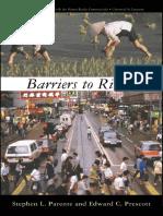 Parente & Prescott - Barriers to Riches